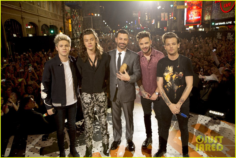 one direction shut down hollywood blvd kimmel performances interview 223512607