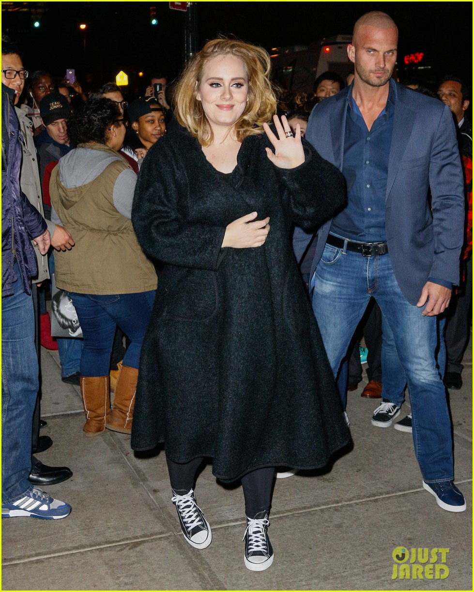 Adele looks RED HOT as she opens up about fame and shielding her ...