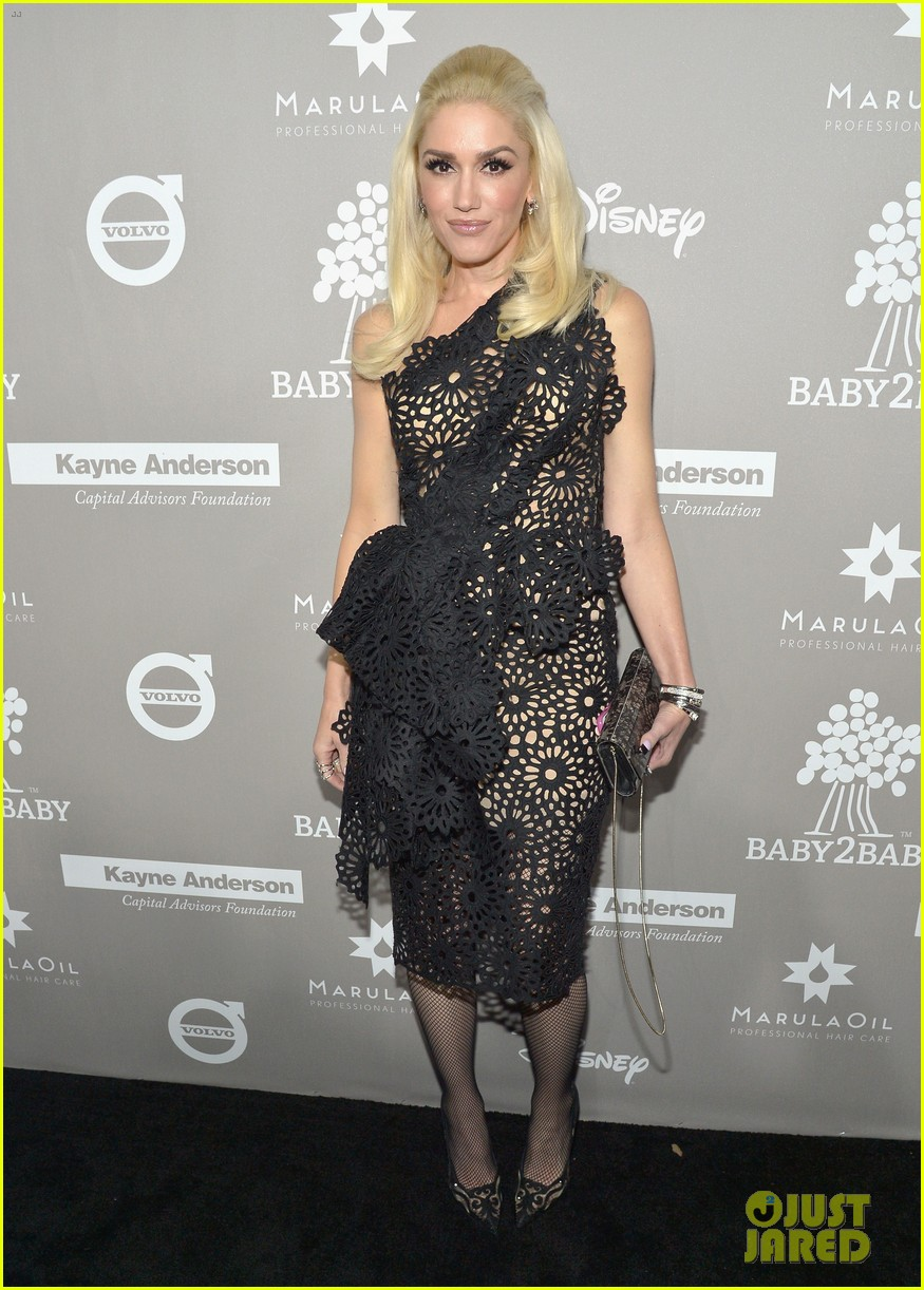 a546cf30d2ba7 Jessica Alba & Gwen Stefani Show Their Support At Baby2Baby Gala ...