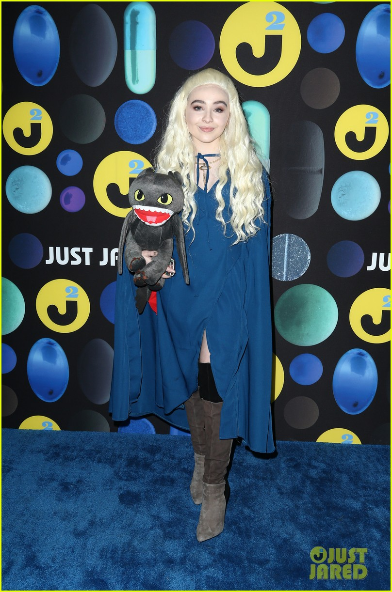 sofia carson just jared halloween party 013497188