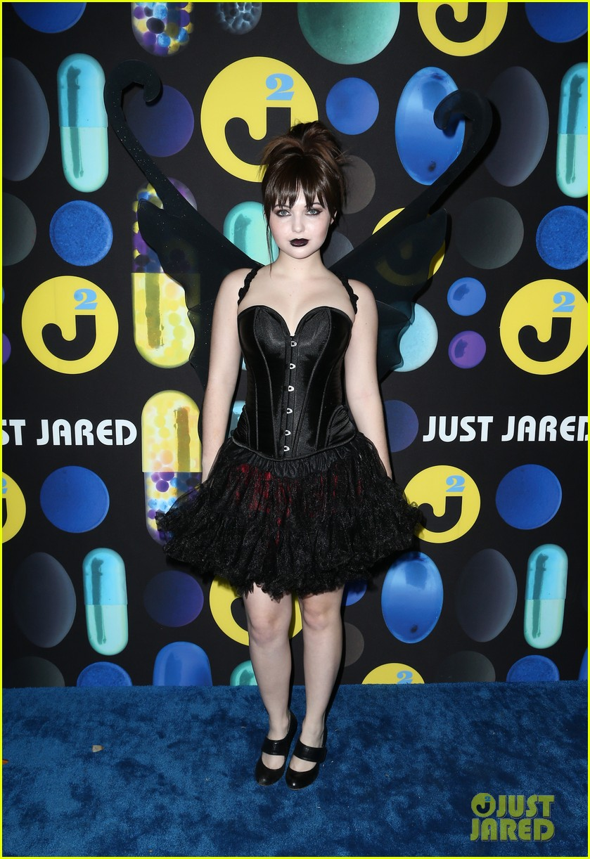sofia carson just jared halloween party 173497204