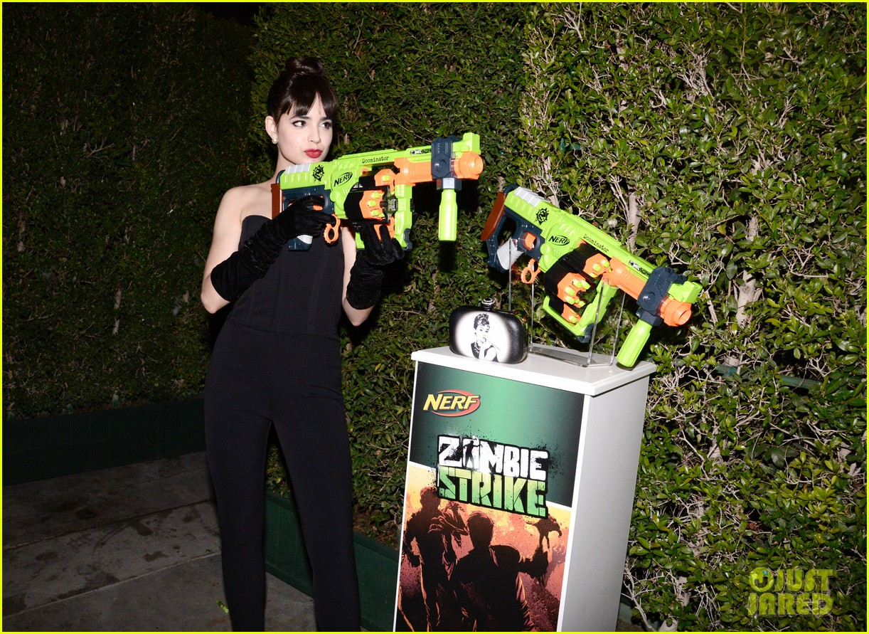 sofia carson just jared halloween party 203497207