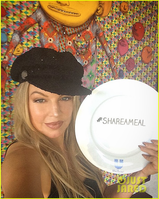 ciara says the share a meal campaign speaks to her heart 033509420
