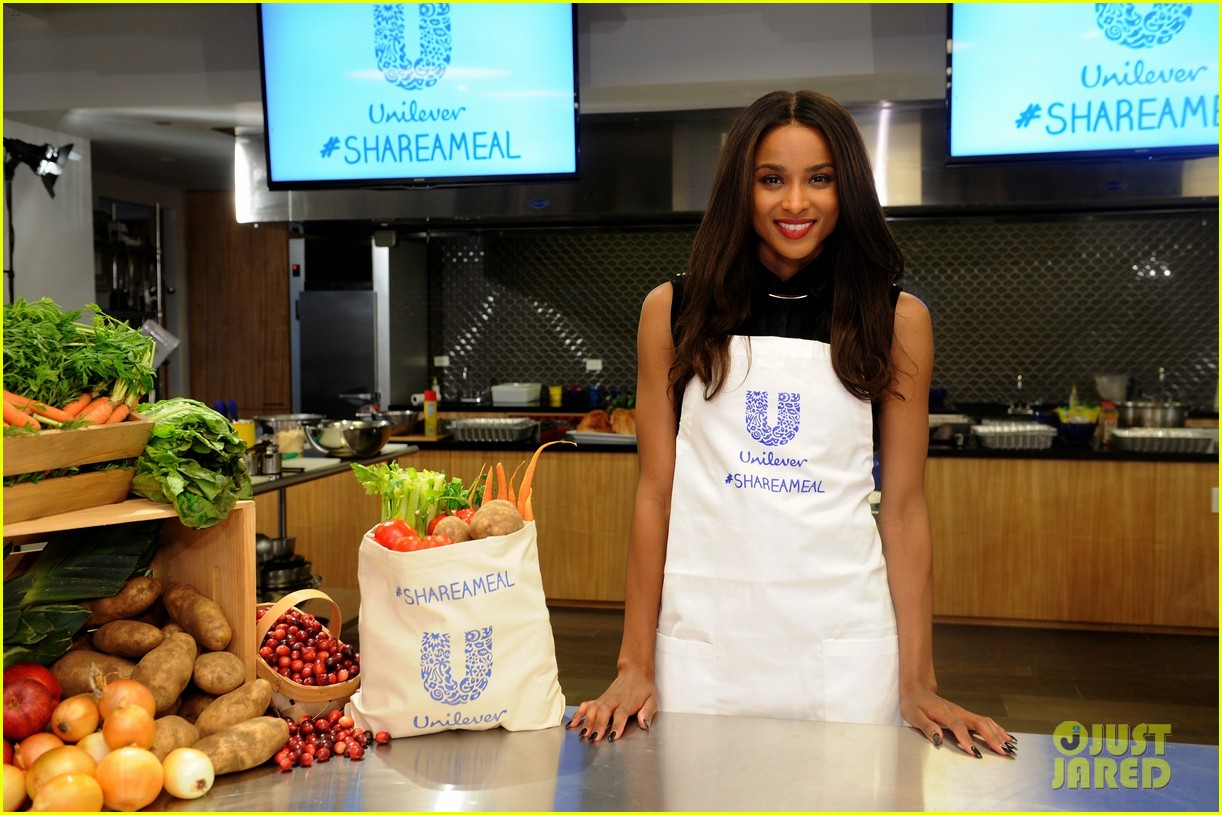 ciara says the share a meal campaign speaks to her heart 043509421