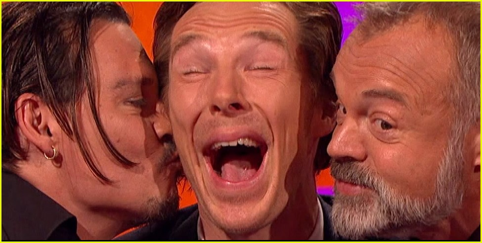 benedict cumberbatch otter faces graham norton show 033518168