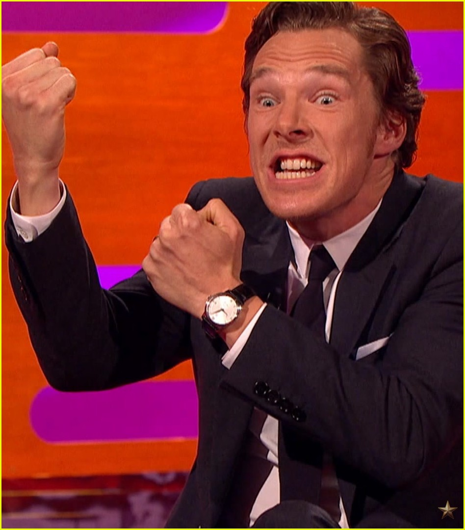 benedict cumberbatch otter faces graham norton show 043518169