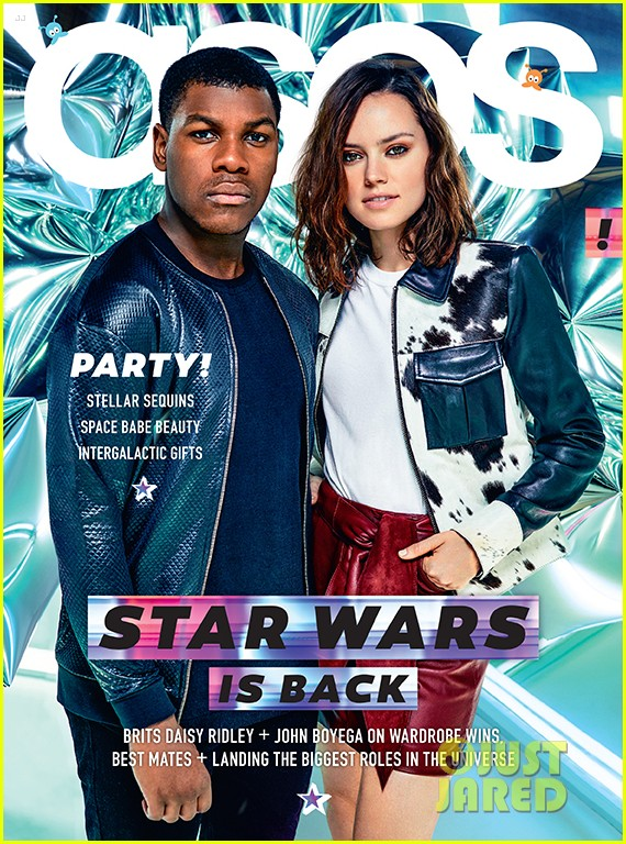 Daisy Ridley Covers Both Elle Amp Asos Mags See Her