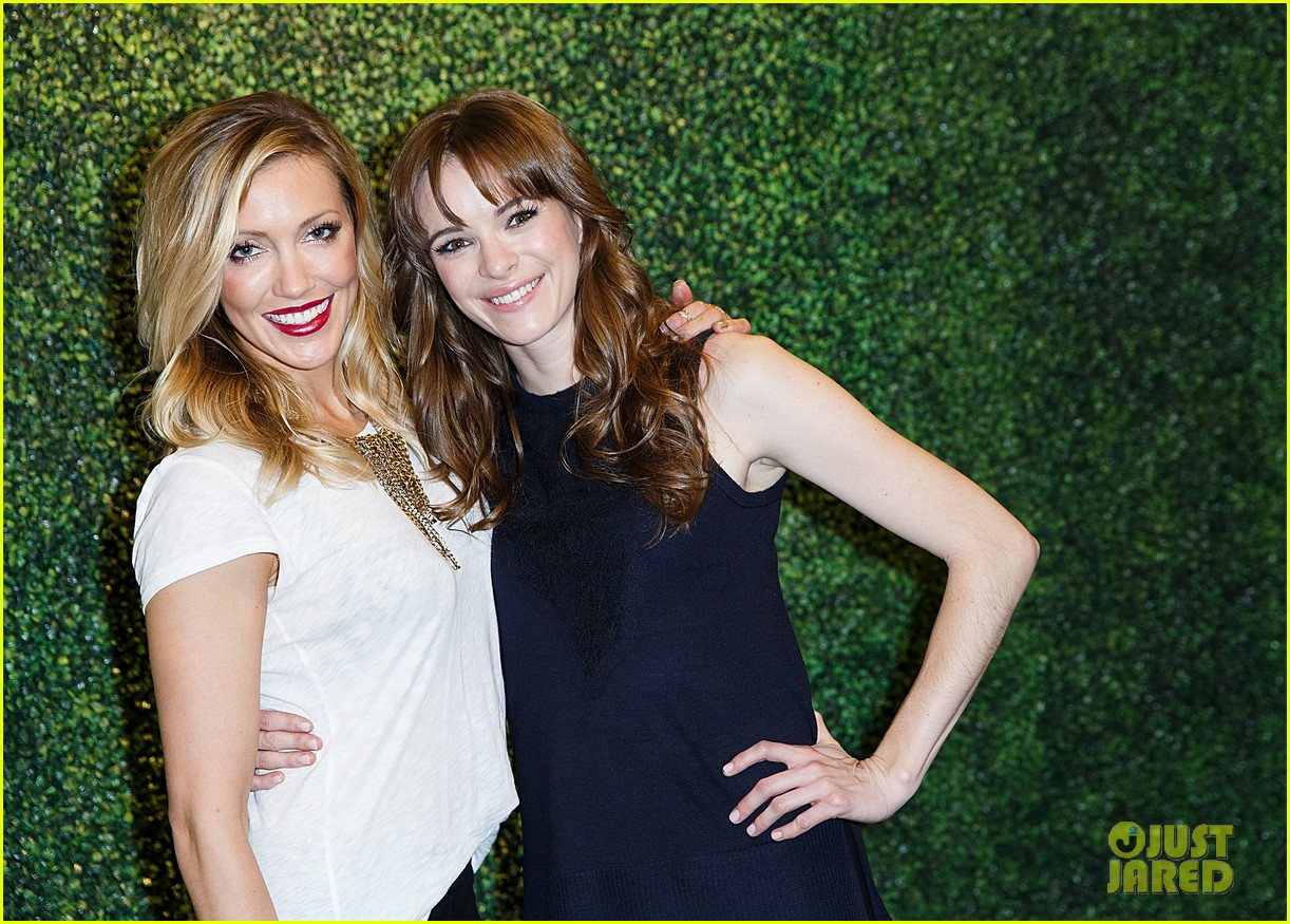 katie cassidy amp danielle panabaker had a girls night out