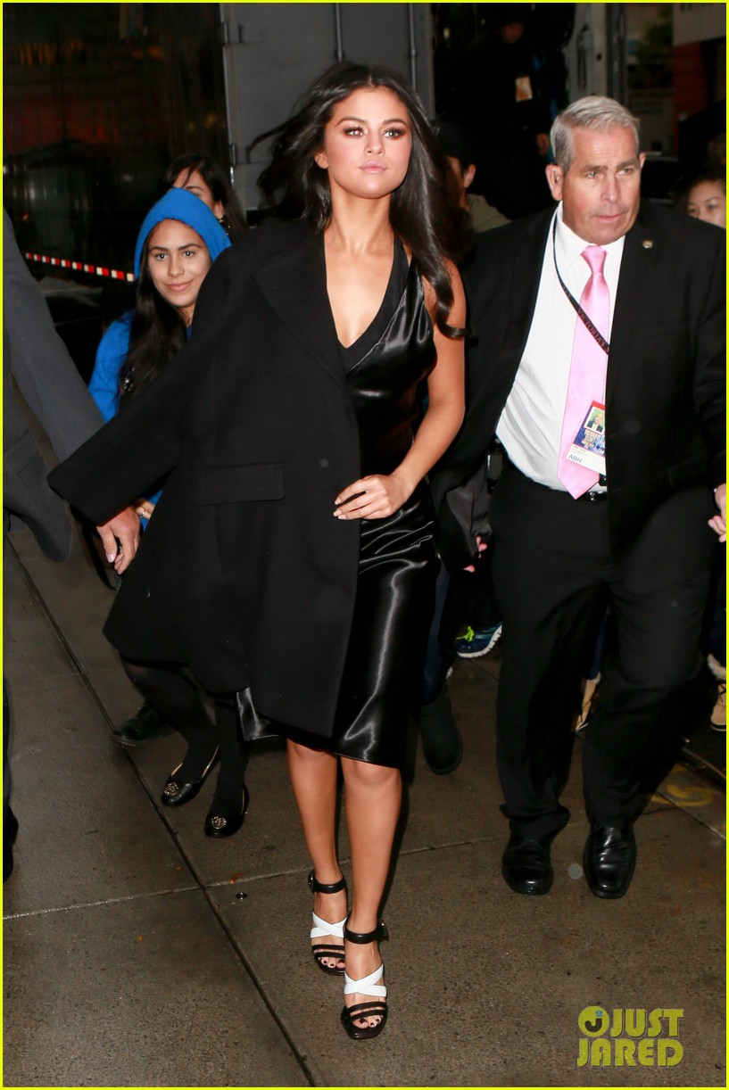 selena gomez the weeknd ellie goulding step out before vs fashion show 22