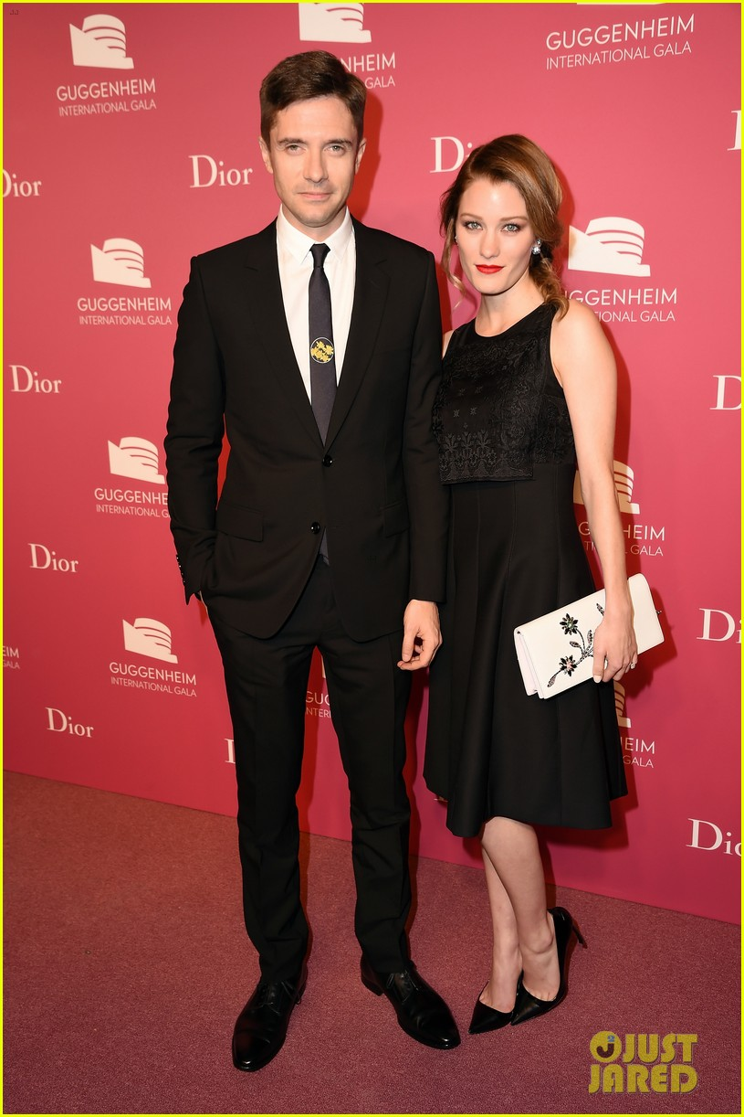 Topher Grace, Riley Keough & More Put On Their Best At Guggenheim