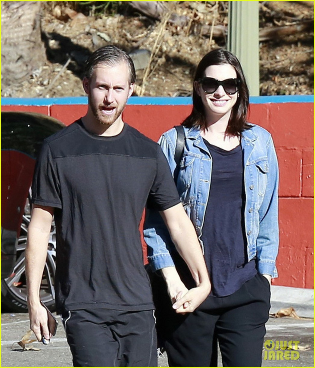 Anne Hathaway Steps Out After Pregnancy News Revealed