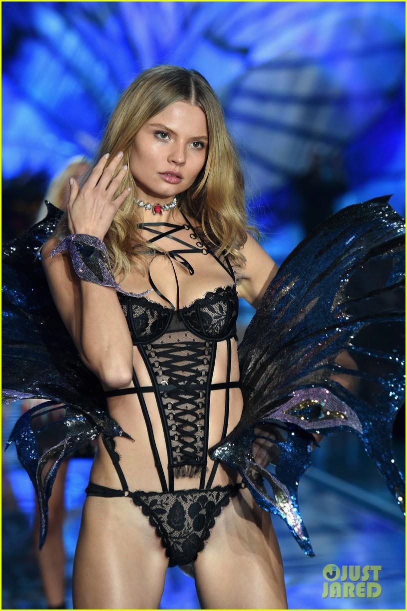 e43e336b8e Martha Hunt   Stella Maxwell Make Their Angel Debuts at Victoria s Secret  Fashion Show 2015