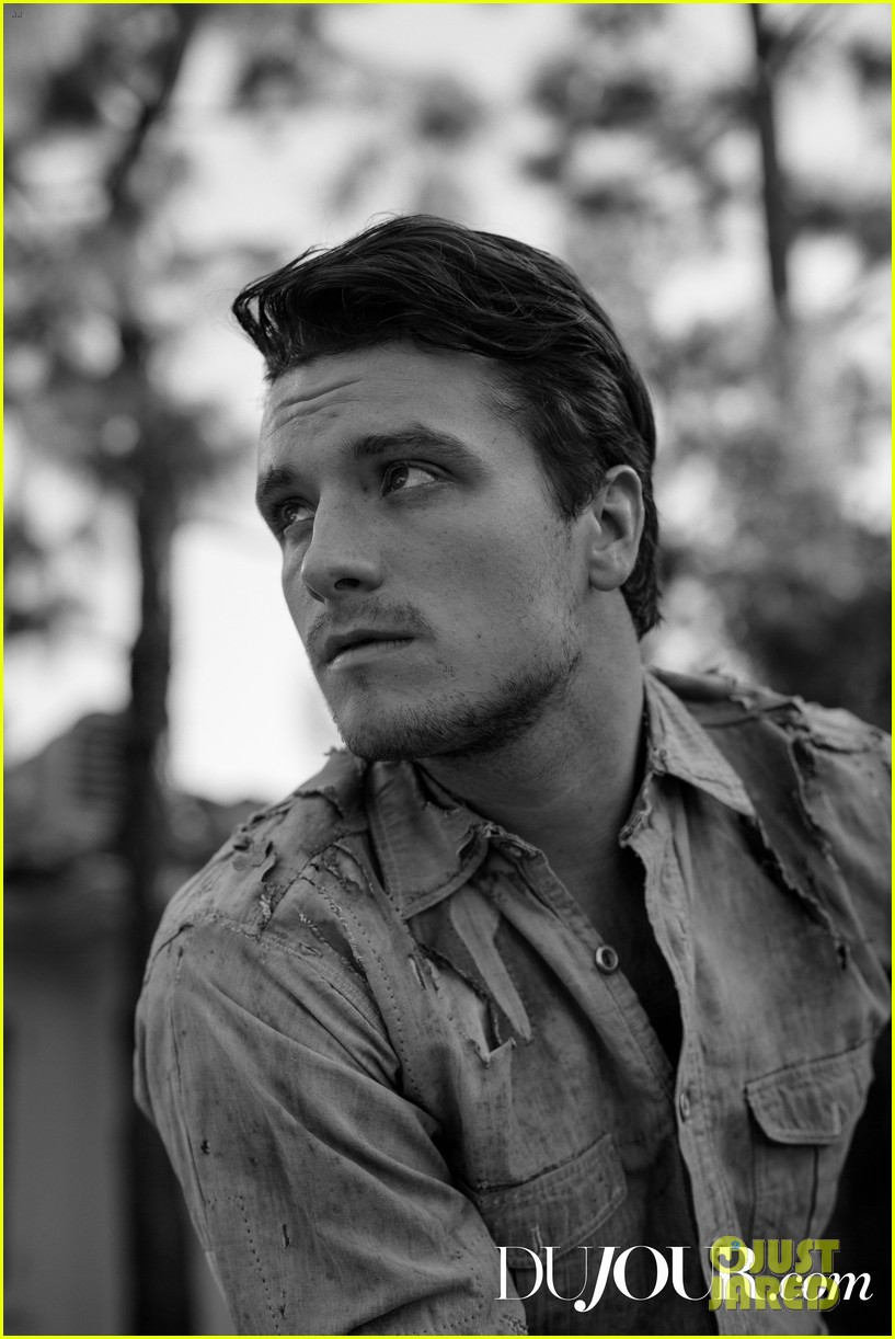 josh hutcherson on hunger games cast we all dumbed each other down 043515502