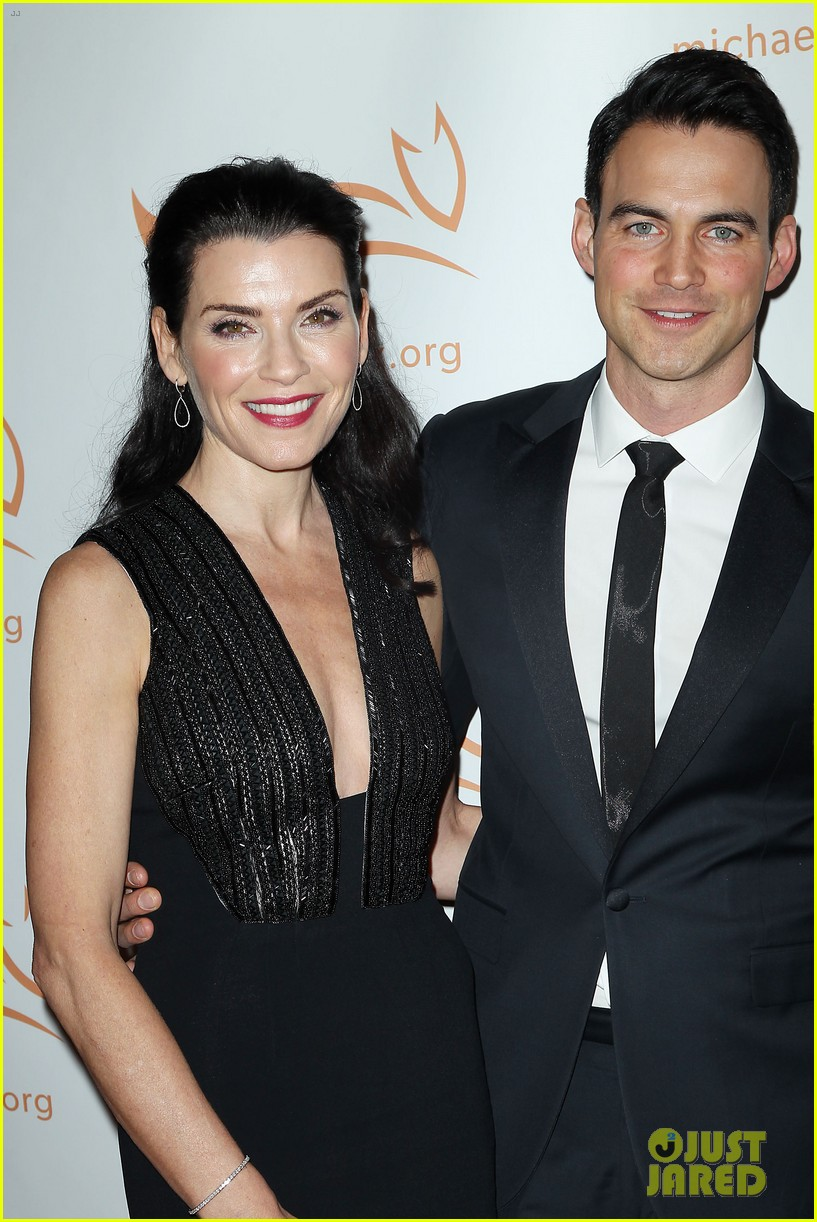 Julianna Margulies Brings Her Hot Husband To Michael J Foxs