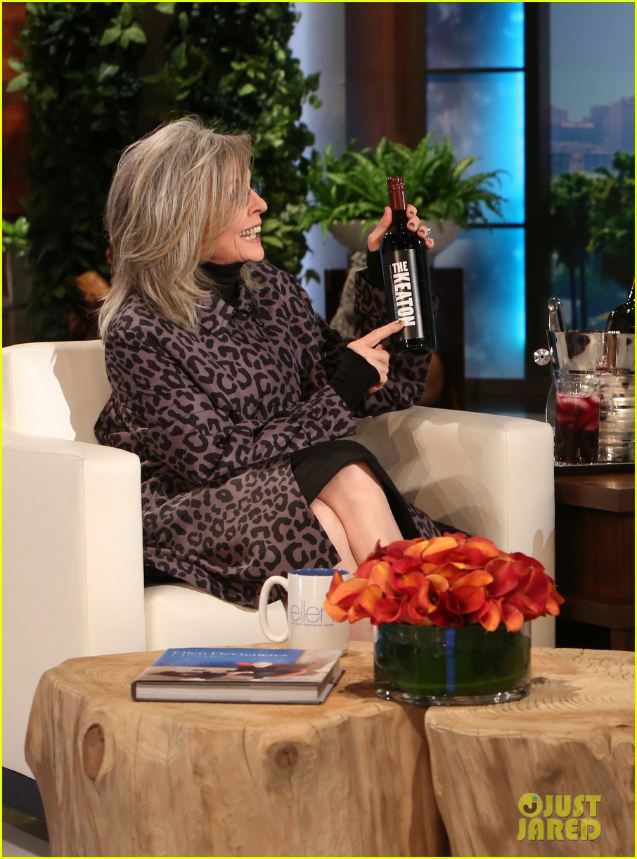 diane keaton freaked out when she met justin bieber 023507805