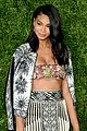 karlie kloss chanel iman show off their style at cfdavogue fashion fund 08