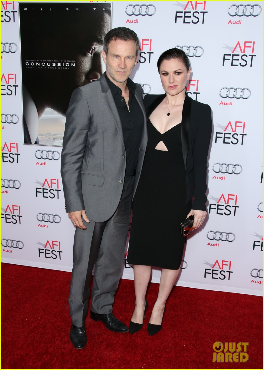 stephen moyer anna paquin couple up for concussion premiere 10