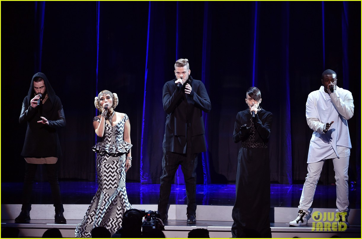 pentatonix star wars tribute amas 2015 063515169