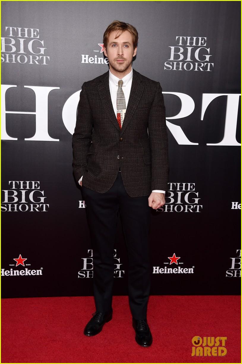 brad pitt ryan gosling the big short premiere 033516956