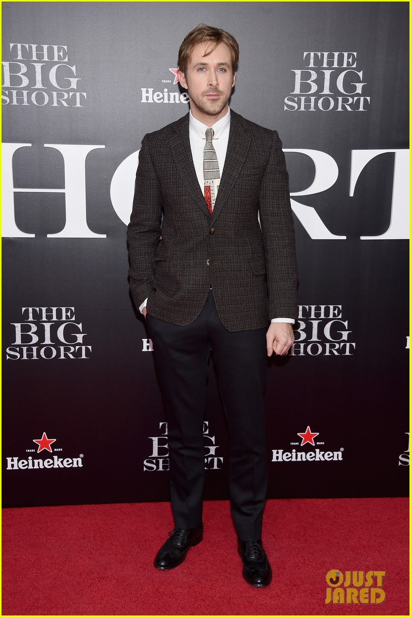 brad pitt ryan gosling the big short premiere 293516983