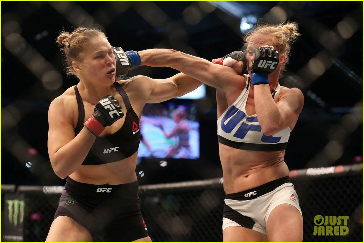 Ronda Rousey Hospitalized After Losing Fight To Holly Holm