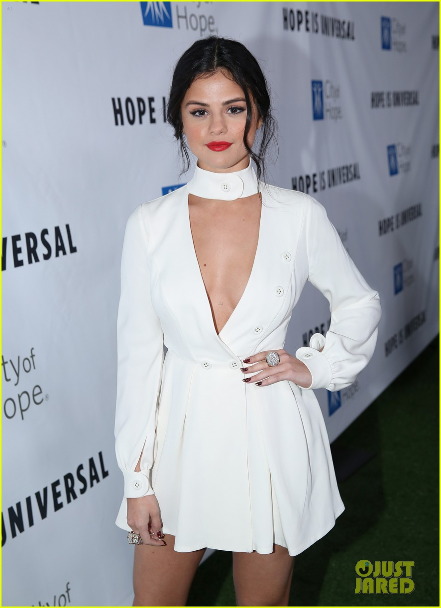selena gomez sam smith city of hope event ellen appearance 09