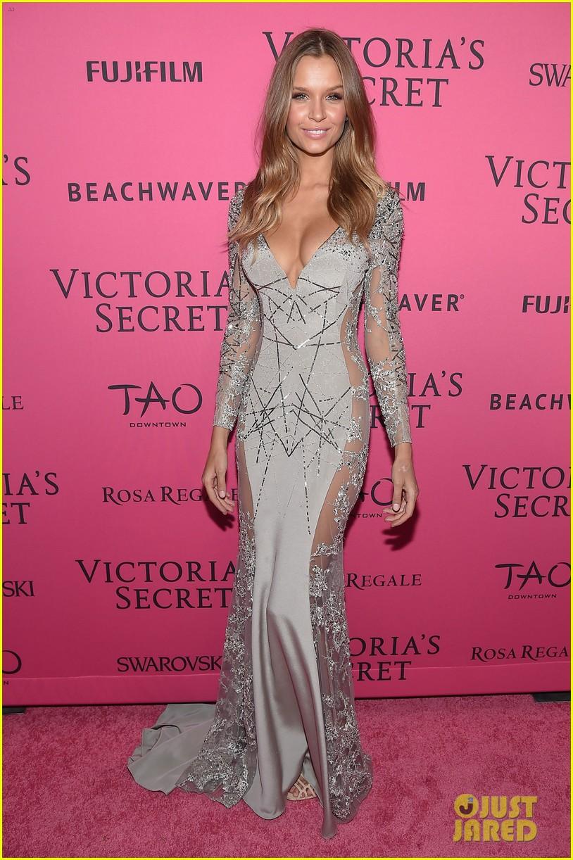 8ac3c11de9 Joan Smalls   Devon Windsor Party After the VS Fashion Show  Photo ...