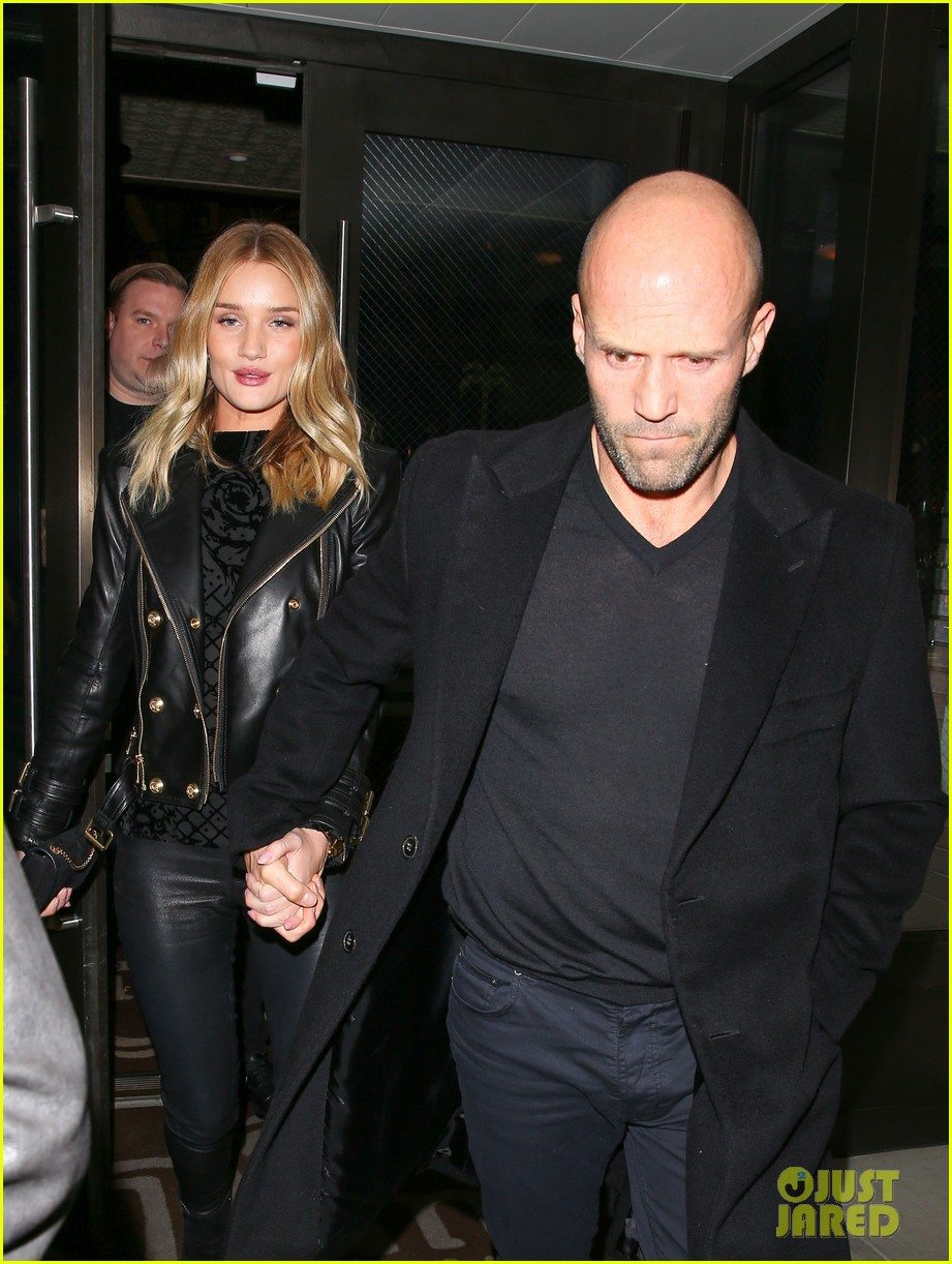 rosie huntington whiteley jason staham have a hot date night 203511791