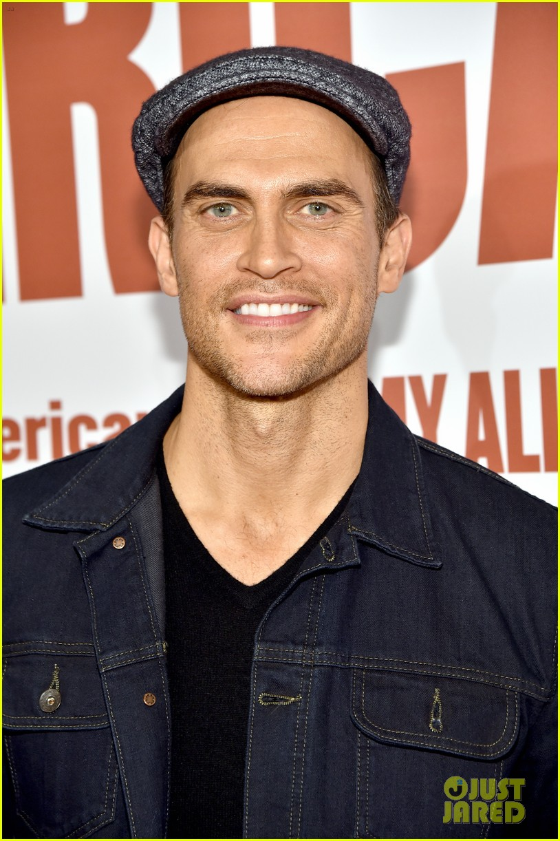finn wittrock gets support from ahs co stars at my all american premiere 083504808