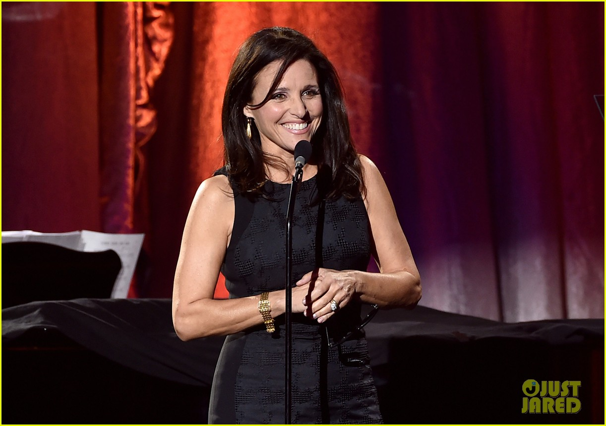 amy adams julia louis dreyfus serve as presenters at trevorlive l a 2015 433524383