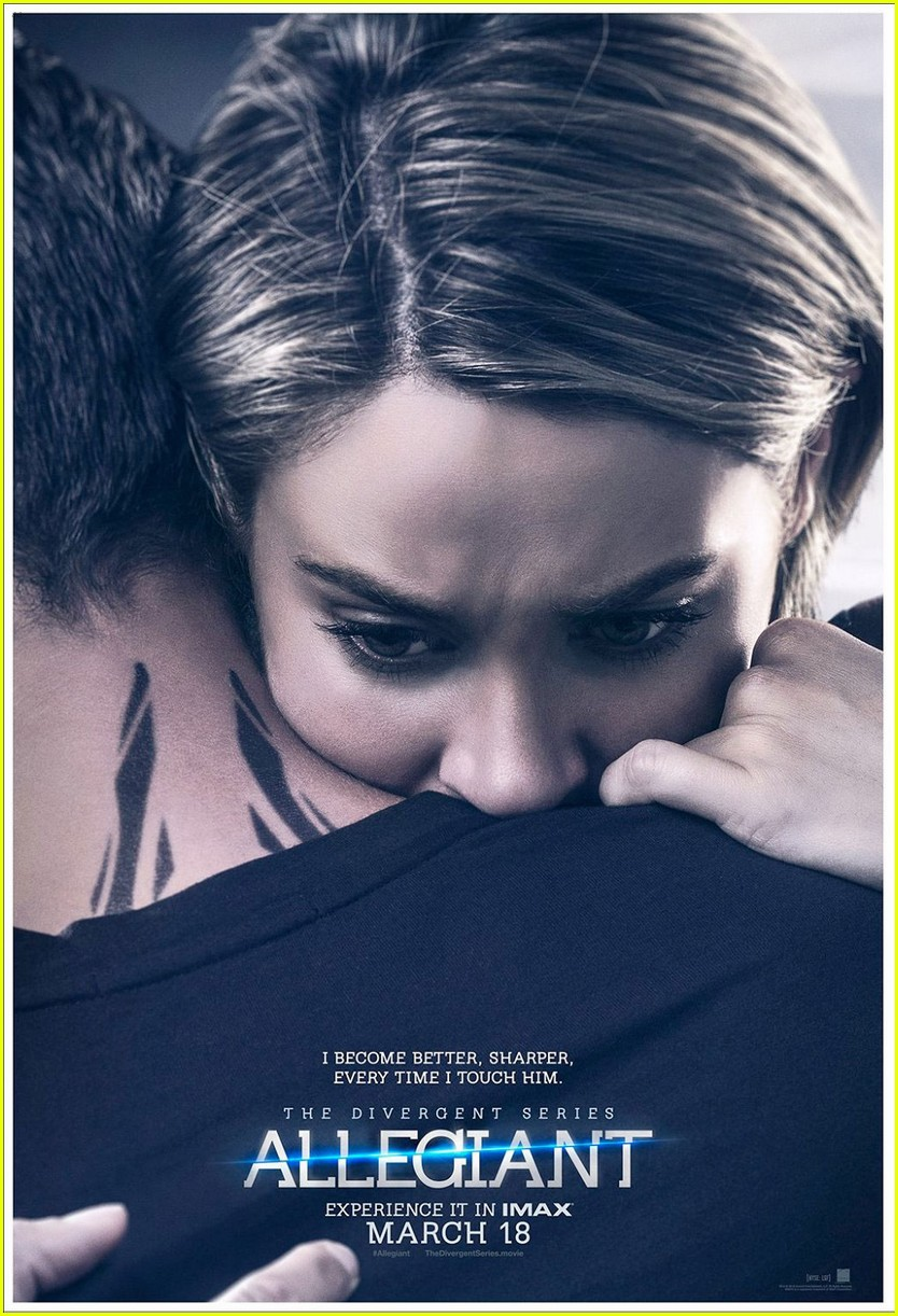 allegiant debuts two new posters featuring four amp tris
