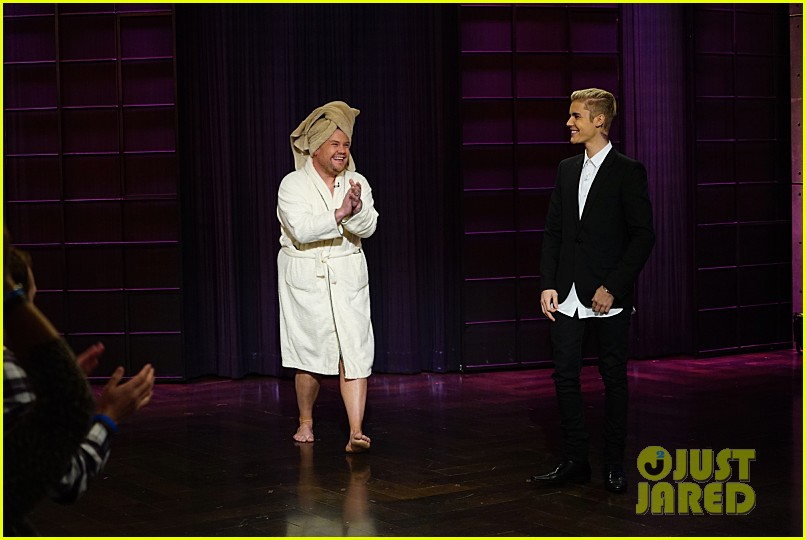 justin bieber subs in for james corden on late late show 063528233