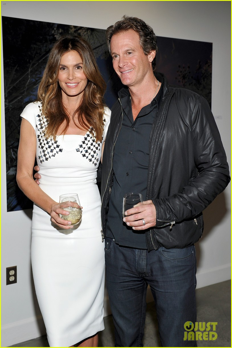 Cindy Crawford & Her Picture Perfect Family Step Out at Her Book ...