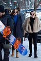 dakota johnson aspen walking new years 26