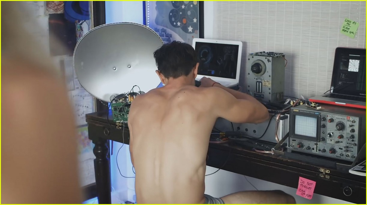 Matt Dallas Goes Shirtless in Just His Underwear for Web