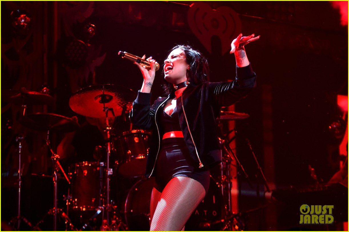 demi lovato selena gomez billboard women music jingle ball pics 113528431