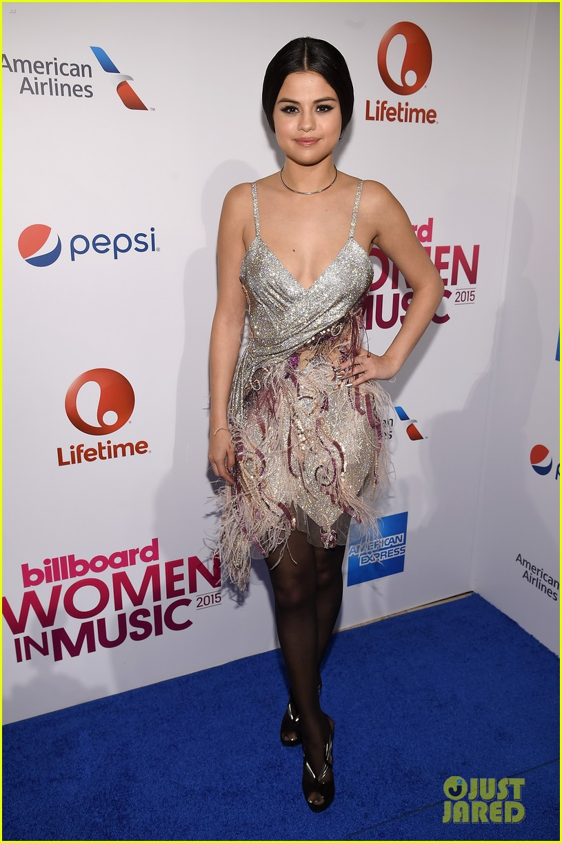 demi lovato selena gomez billboard women music jingle ball pics 203528440