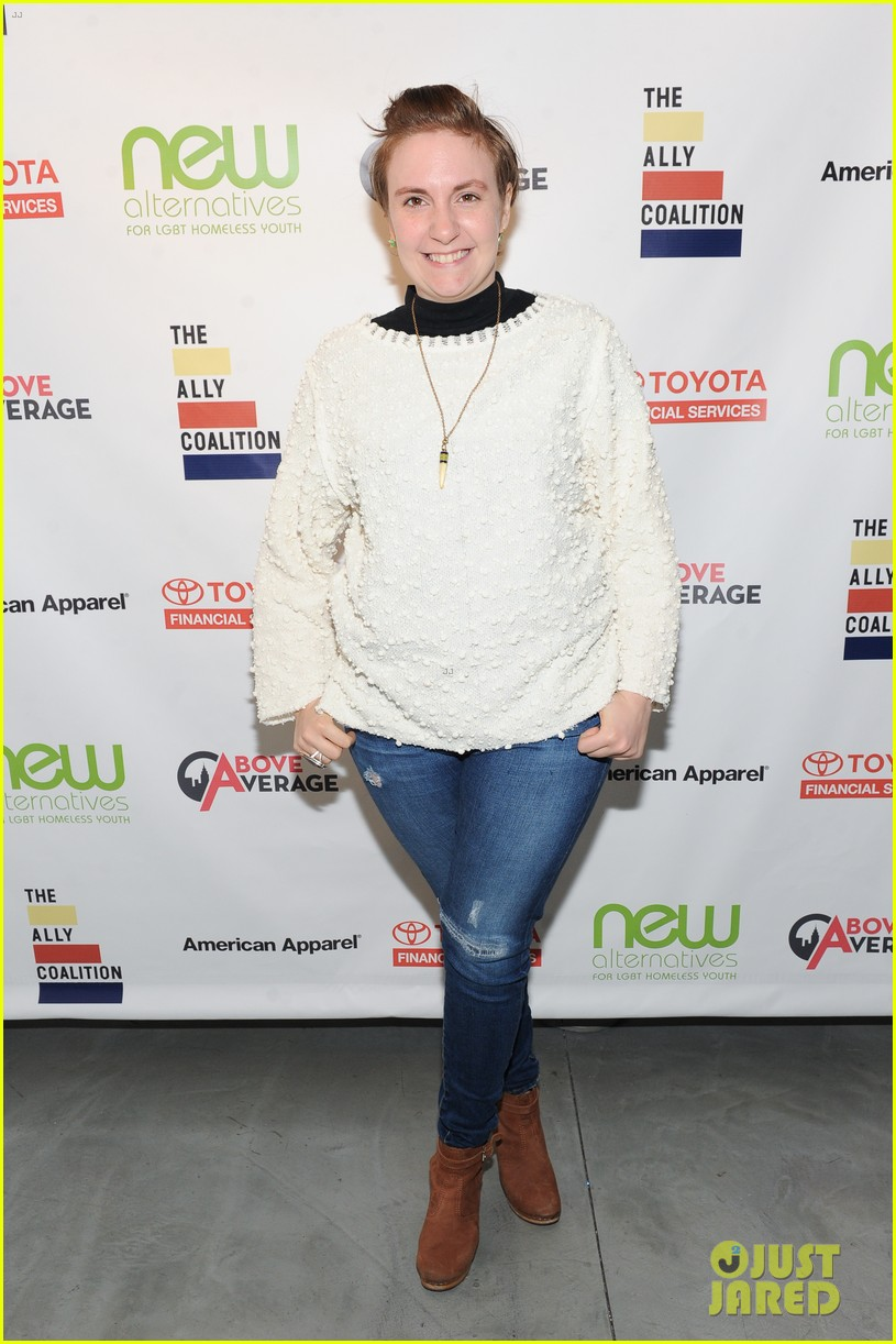 lena dunham jack antonoff more come together for ally coalition talent show 013520510