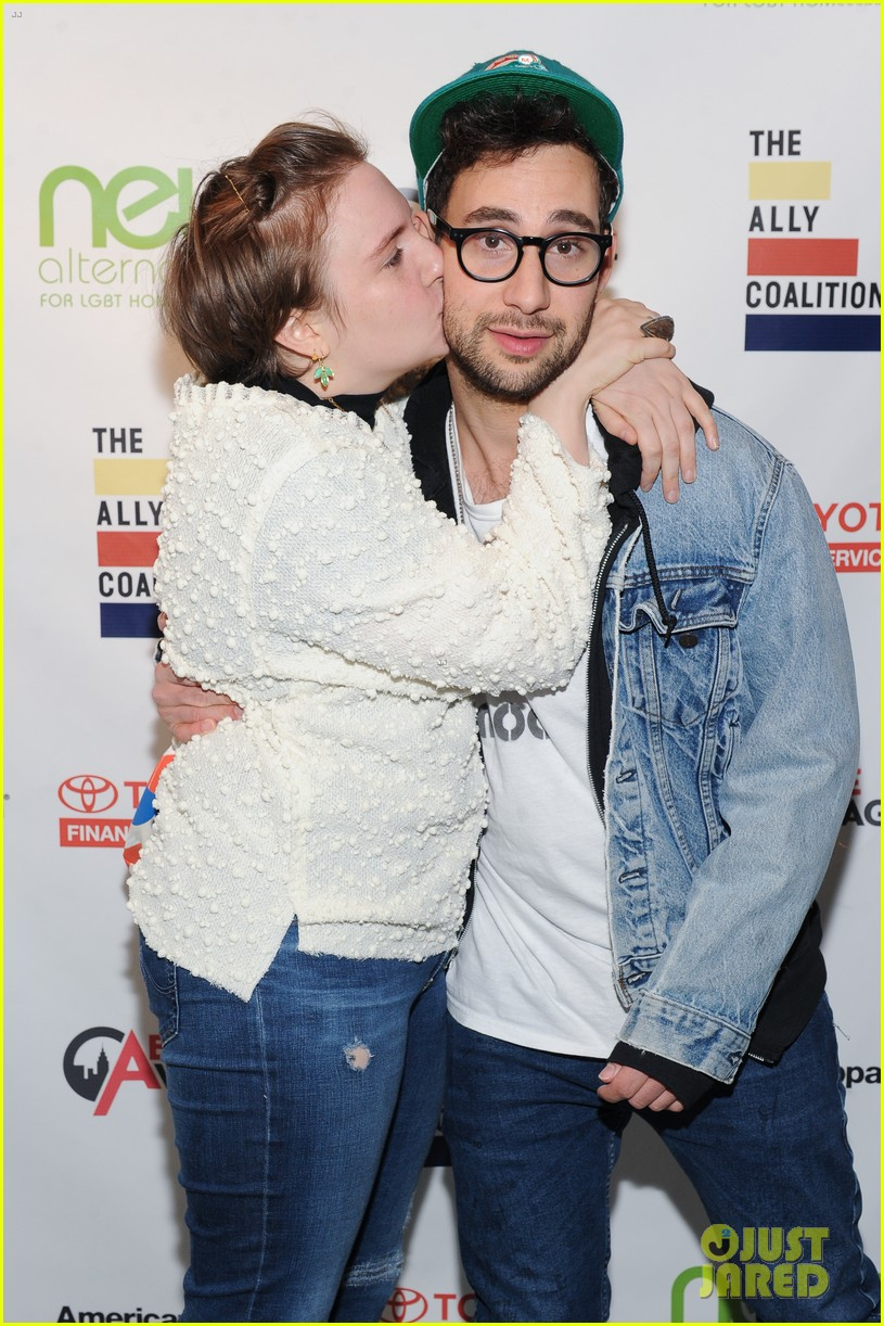 lena dunham jack antonoff more come together for ally coalition talent show 023520511