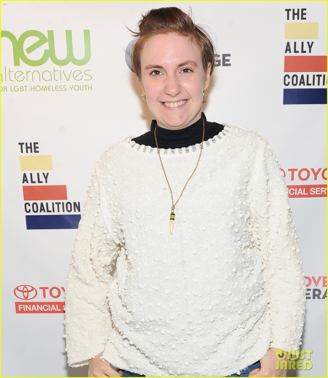 lena dunham jack antonoff more come together for ally coalition talent show 053520514