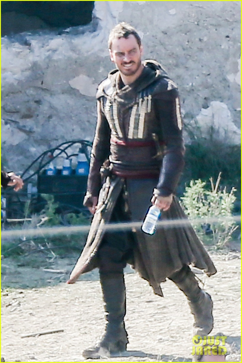 Michael Fassbender Films Assassin S Creed In Spain Photo