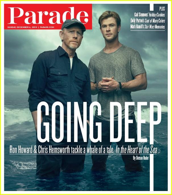 Chris Hemsworth Talks Fame & Family in 'Parade Magazine