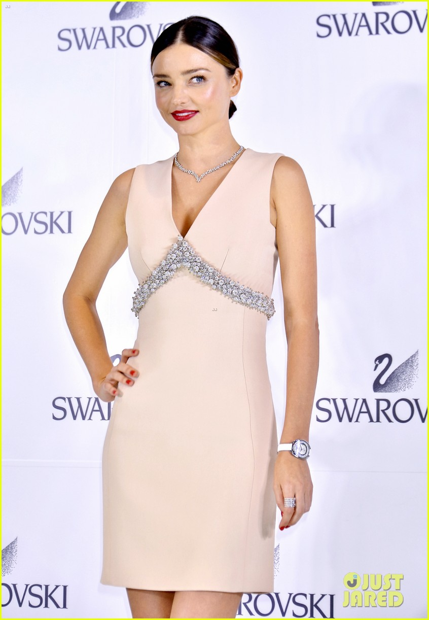 Miranda Kerr Launches Swarovski Jewelry Collection In ... Miranda Kerr Collection