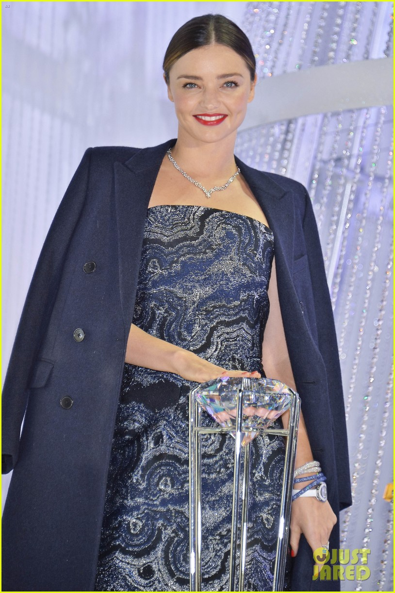 Miranda Kerr Launches Swarovski Jewelry Collection In Tokyo Photo