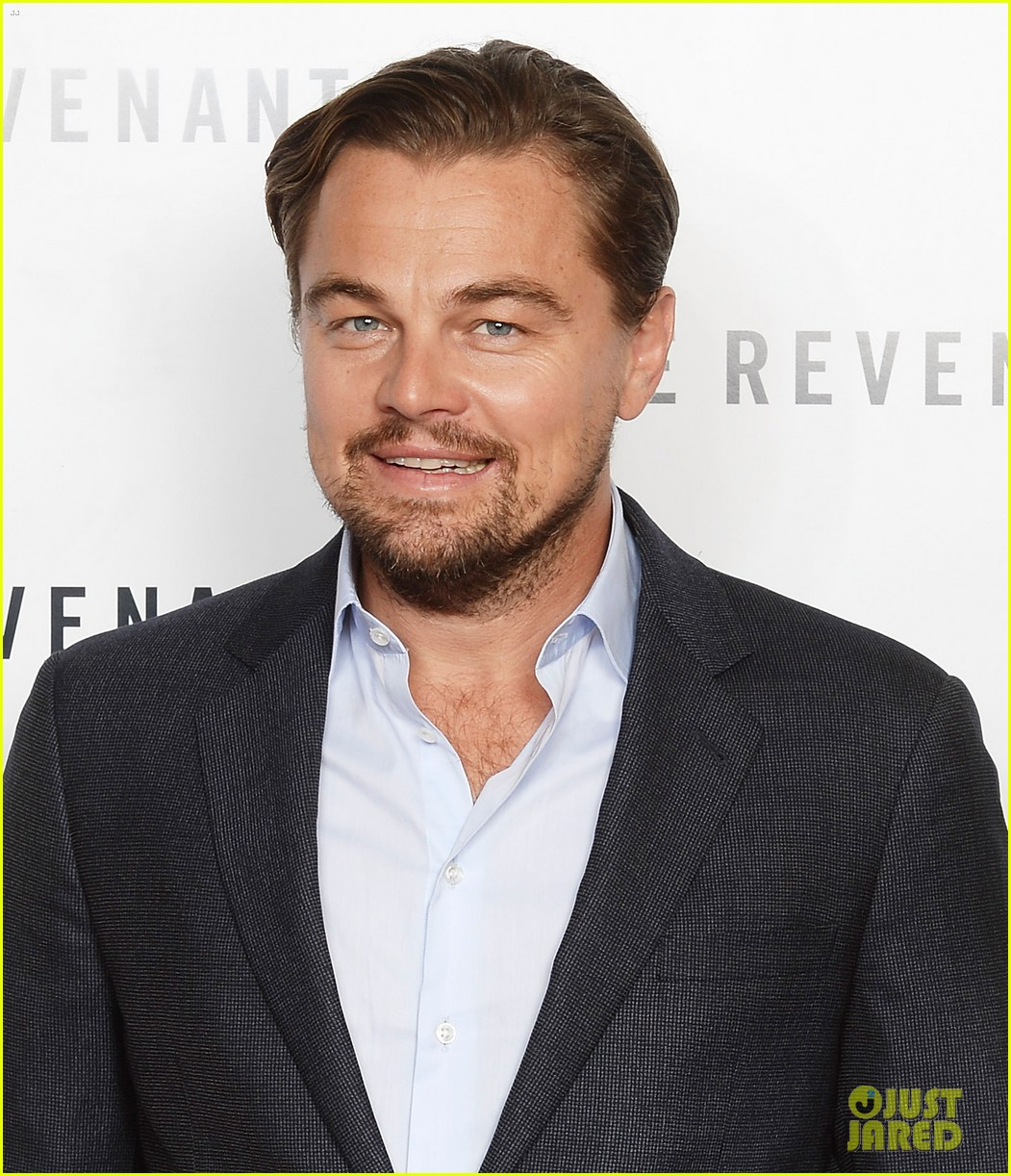 leonardo dicaprio tom hardy revenant london screening 043524145