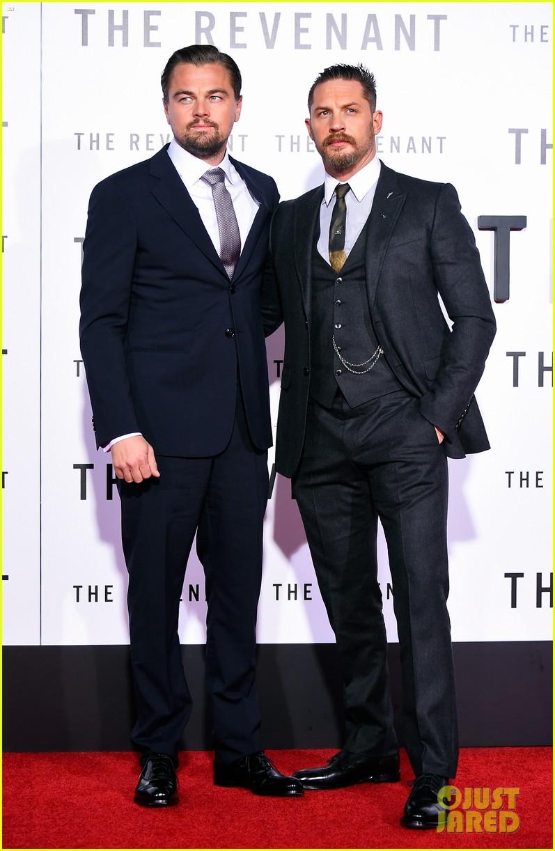 a9980be6b Leonardo DiCaprio & Tom Hardy Premiere 'The Revenant': Photo 3533050 ...