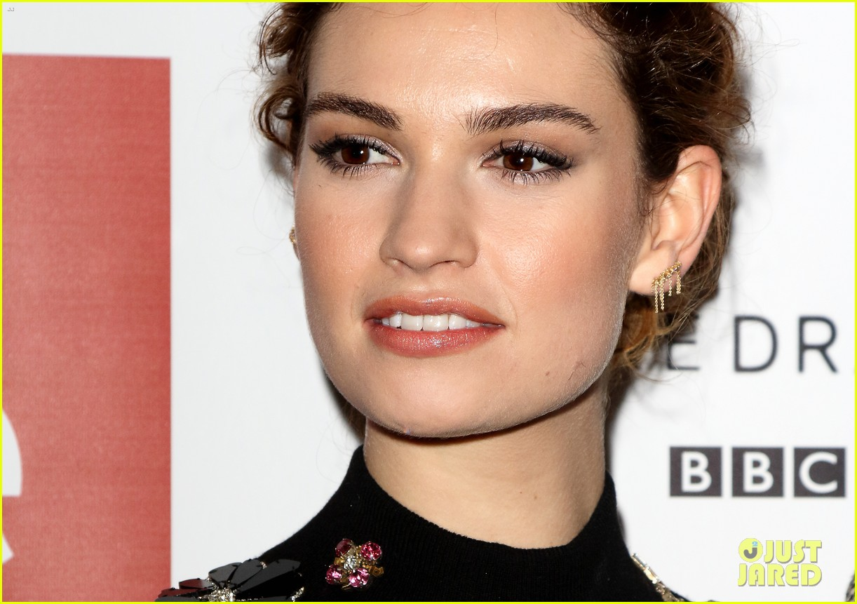 lily james war peace photo call london 173531000
