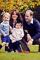 royal family release new family portrait as christmas car