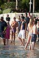 simon cowell causes a frenzy on the beach 21