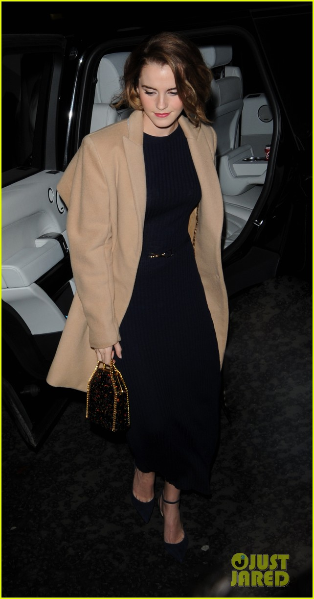 Emma Watson Shows Off Her Chic New Bob Haircut Photo 3526022